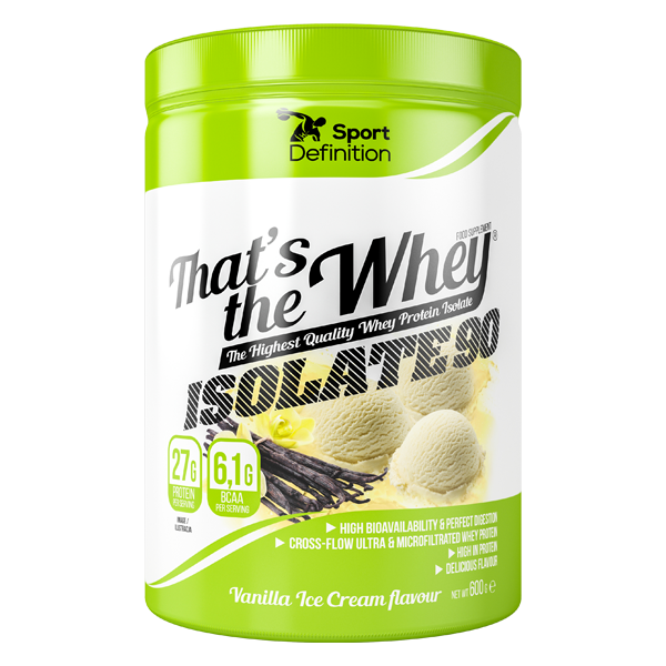 Sport Definition That's The Whey Isolate 600 г