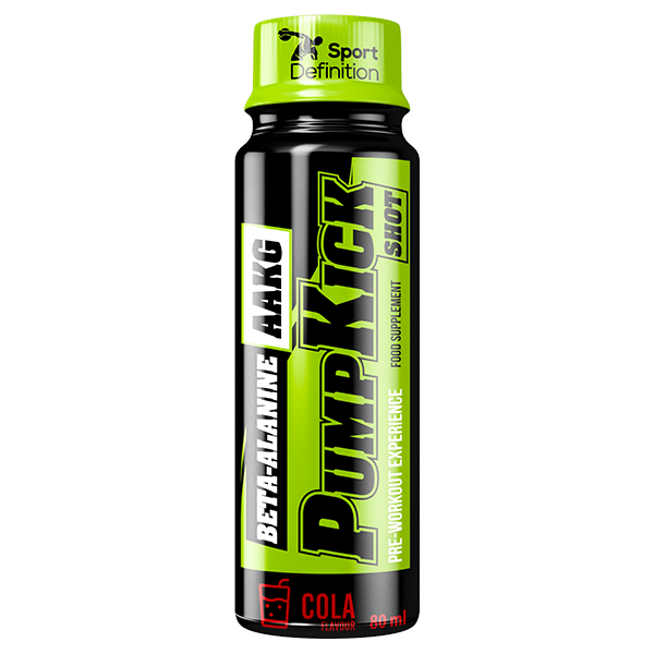 PUMP KICK – Beta-alanina + AAKG – SHOT 80 ml
