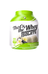 That's the Whey ISOLATE – 2100g