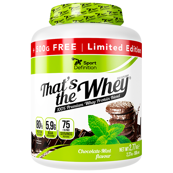 SPORT DEFINITION THAT'S THE WHEY – 2770G [2270G + 500G GRATIS]