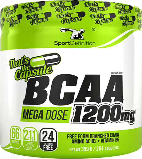 BCAA 1200 mg – That's the Capsules – 264 kapsułki