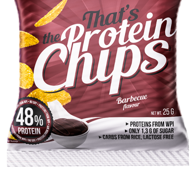 That's the Protein Chips Barbecue 25g