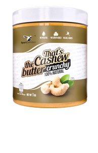 That's the Cashew butter crunchy – 1000g