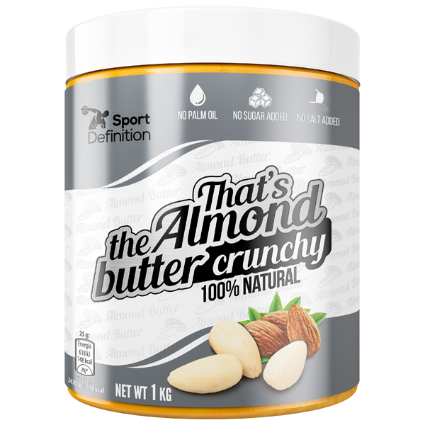 That's the Almond butter crunchy – 1000g