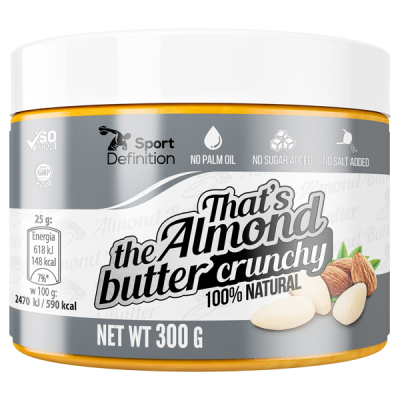 That's the Almond Butter Crunchy – 300g