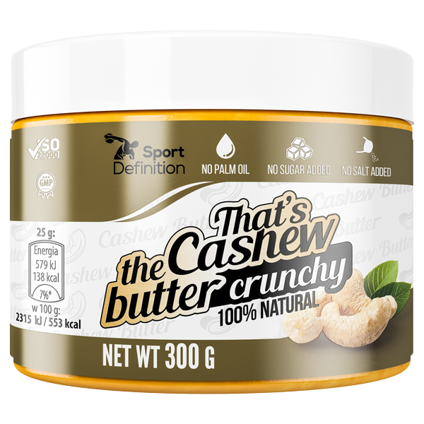 That's the Cashew Butter Crunchy – 300g