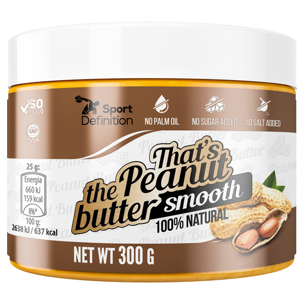 That's the Peanut butter smooth – 300g