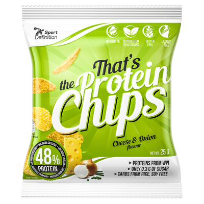 That's the Protein Chips Cheese-Onion 25g