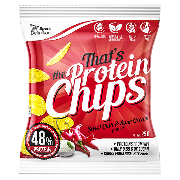 That's the Protein Chips Sweet Chili Sour Cream 25g