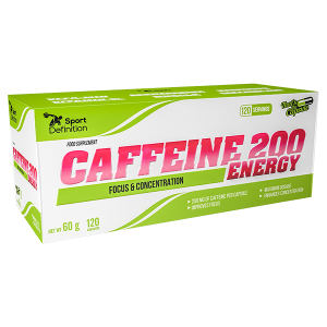 Sport Definition Caffeine 200 ENERGY – 120 kaps.