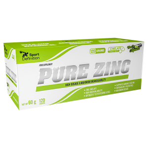 Pure Zinc Sport Definition – 120 caps.