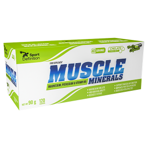 Sport Definition Muscle Minerals – 120 kaps.