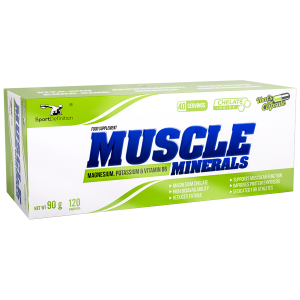 Sport Definition Muscle Minerals — 120 капсул