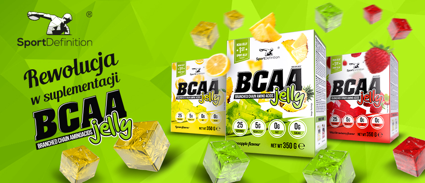 Revolution in supplementation – BCAA JELLY