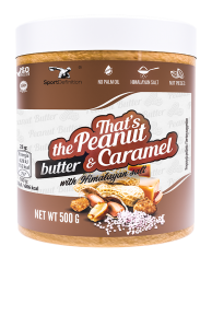 That's the Peanut Butter & Carmel [with Himalayan salt]