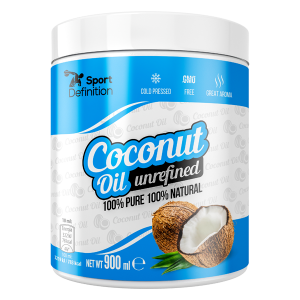 Sport Definition Coconut Oil Unrefined 900 ml